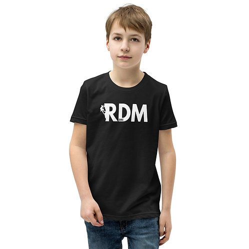Rock Climbing RDM ORE - Redmond, Oregon - Youth Short Sleeve T-Shirt