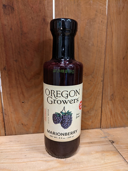 Oregon Growers Marionberry Syrup