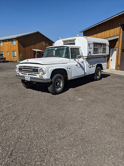 1967 International Harvester 1200 3/4 ton 4wd pickup