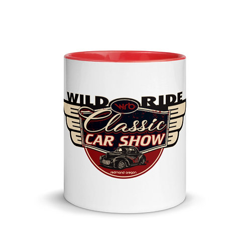 2019 Wild Ride Classic Car Show - Mug with Color Inside
