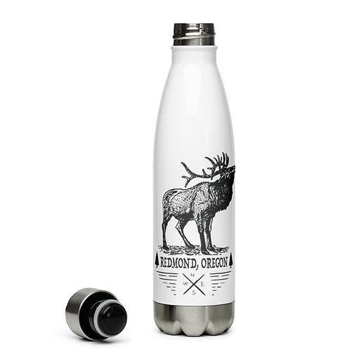 Have you seen elk in Redmond, Oregon. - Stainless Steel Water Bottle