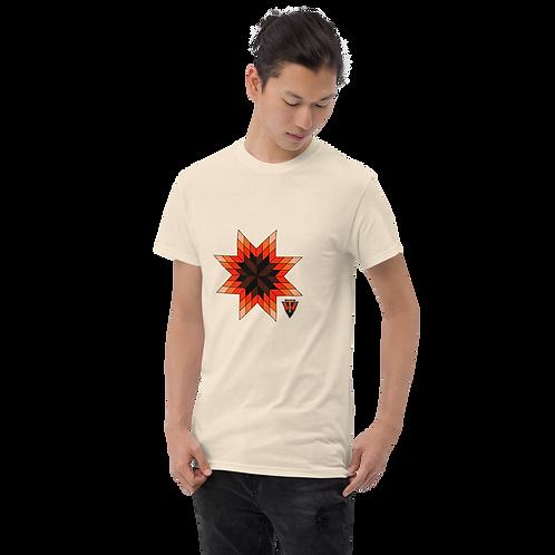 Orange Star Quilt