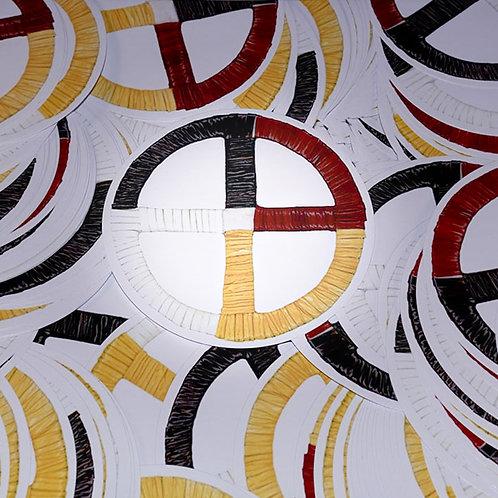 Sticker - Medicine Wheel