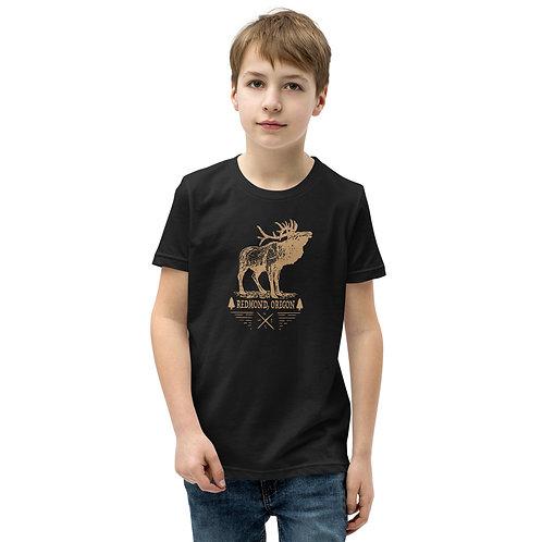 RDM ORE - Redmond, Oregon - Elk - Youth Short Sleeve T-Shirt