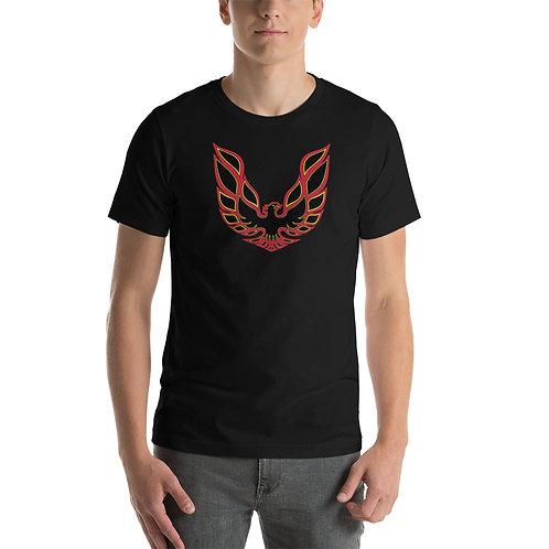 Pontiac Firebird - Red - Short-Sleeve Unisex T-Shirt