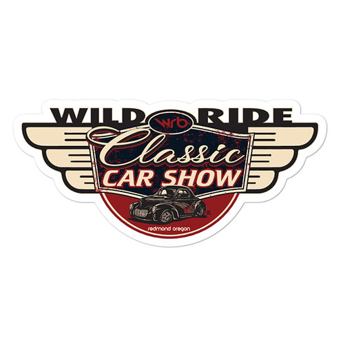 2019 Wild Ride Car Show stickers