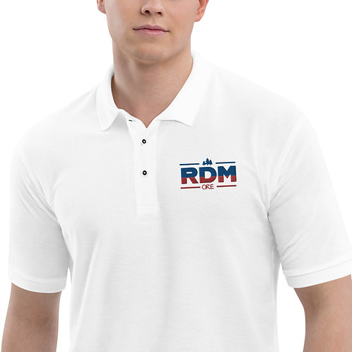 RDM ORE - Blue and Red Men's Premium Polo