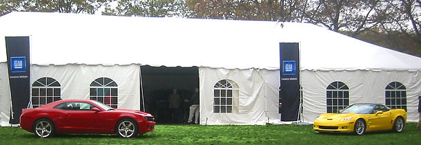 Tent rental packages available