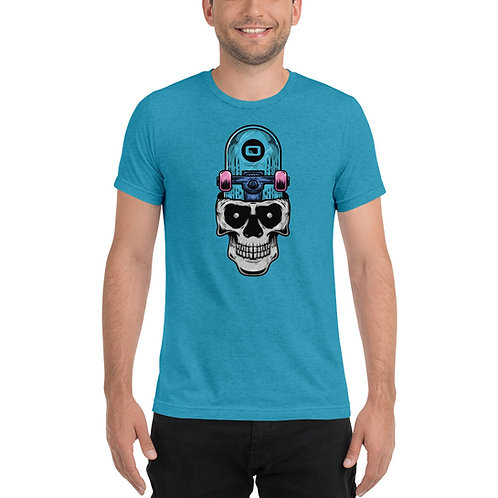 Don't crash or this will be your STMPO Skull - Short sleeve t-shirt