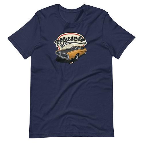 Dodge Charger Muscle Car Garage Short-Sleeve Unisex T-Shirt
