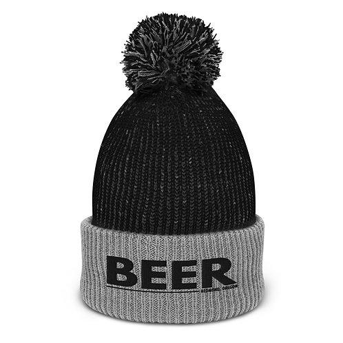 Drink more Beer in Redmond, Oregon - Pom-Pom Beanie