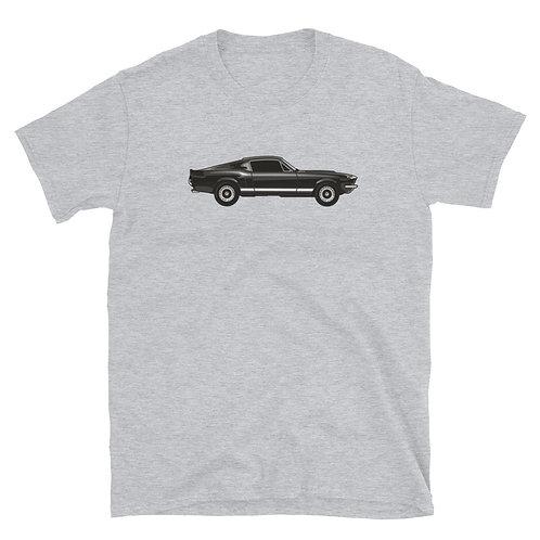 Fastback Mustang - Short-Sleeve Unisex T-Shirt