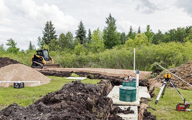 excavation services Septic System installaton redmond, oregon