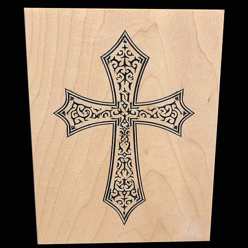 Holy Cross Plaque