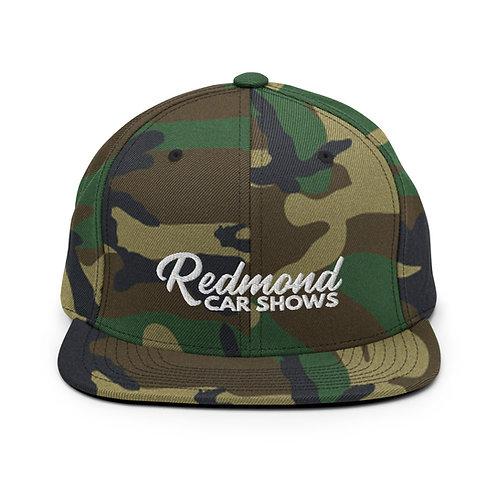 Camo Redmond Car Shows - Snapback Hat