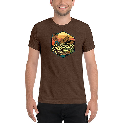 Begin the Journey to Redmond, Oregon - Short sleeve t-shirt