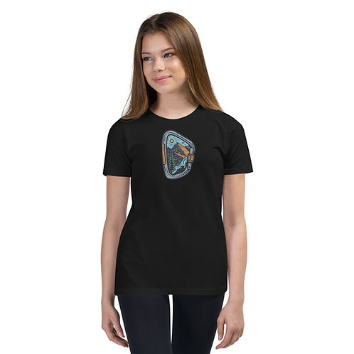 RDM ORE - Redmond, Oregon - Caribiner - Youth Short Sleeve T-Shirt