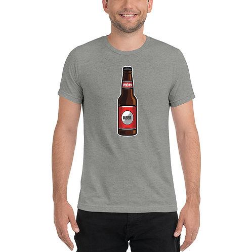 Beer Bottle Redmond - Short sleeve t-shirt