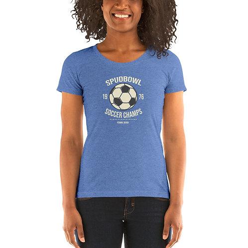Redmond Spudbowl Soccer Champs - Ladies' short sleeve t-shirt