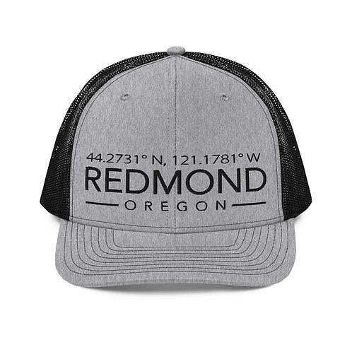 Coordinates of Redmond, Oregon - Trucker Hat