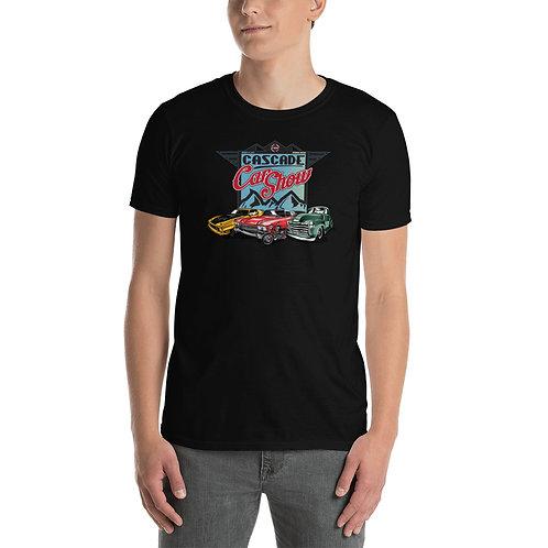 Cascade Car Show August 21, 2021 - Short-Sleeve Unisex T-Shirt