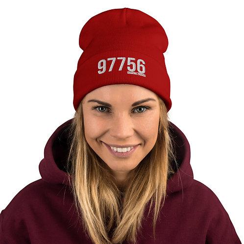 97756 Redmond, Oregon - Embroidered Beanie