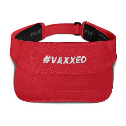 I am Vaccinated - VAXXED - Visor