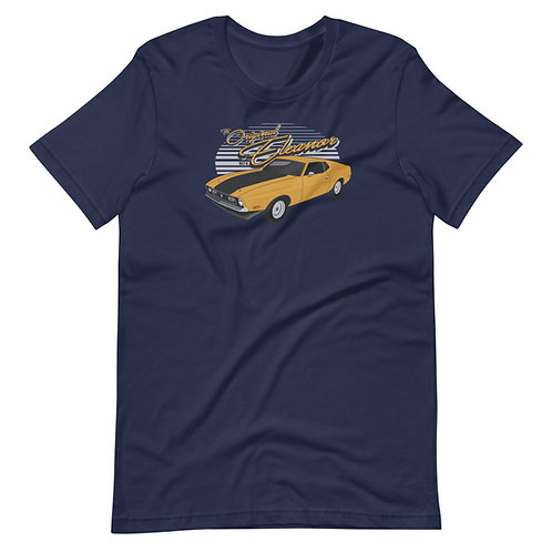The Original Eleanor Mustang Gone in 60 Seconds 1974  - Short-Sleeve T-Shirt
