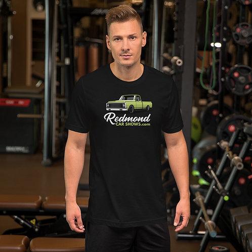 Redmond Car Shows - C10-Green - Short-Sleeve Unisex T-Shirt