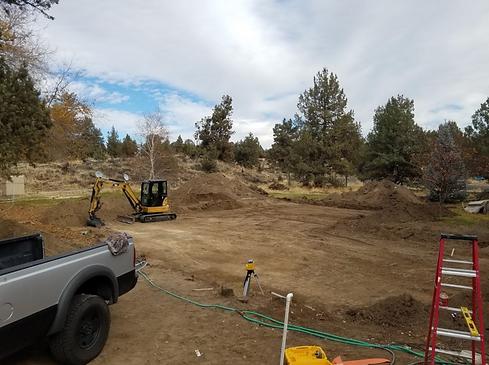 excavation services grading redmond, oregon