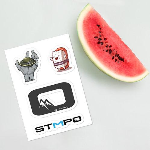 """STMPO Sticker sheet - """"Woah, check out that watermelon"""""""