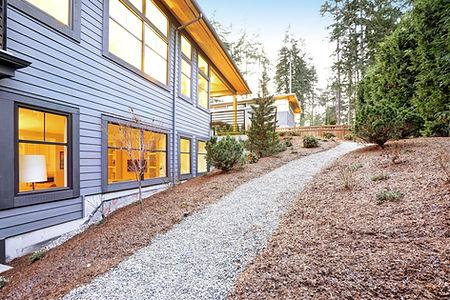 Backyard Landscape Redmond Oregon