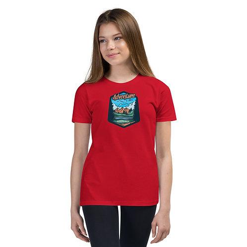 Adventure Time - RDM ORE - Redmond, Oregon - Youth Short Sleeve T-Shirt