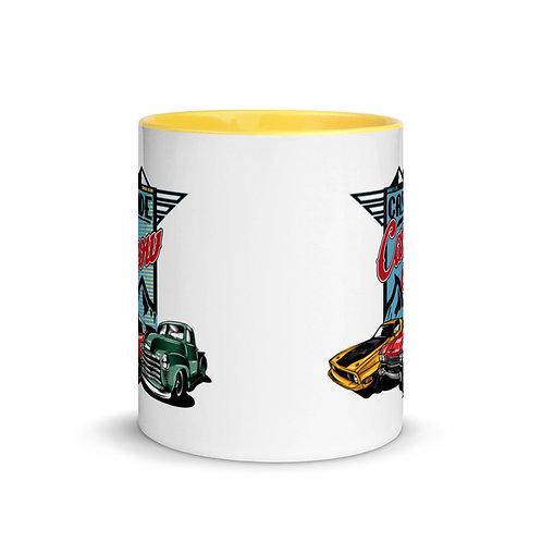 Cascade Car Show August 21, 2021 - Mug with Color Inside