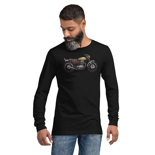 Motorcycles are cool. STMPO Says - Unisex Long Sleeve Tee