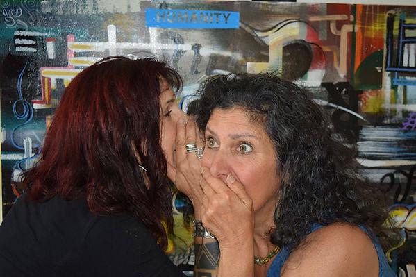Karen Hazelwood and Christine Delagado.j