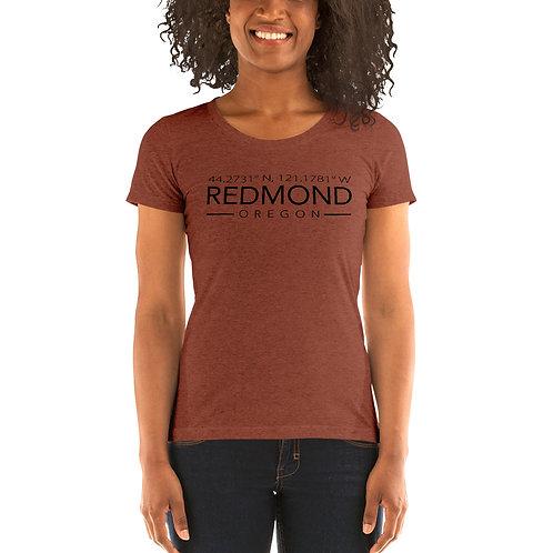 Redmond Coordinates - Ladies' short sleeve t-shirt