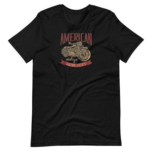 American Classic Motorcycles Short-Sleeve Unisex T-Shirt