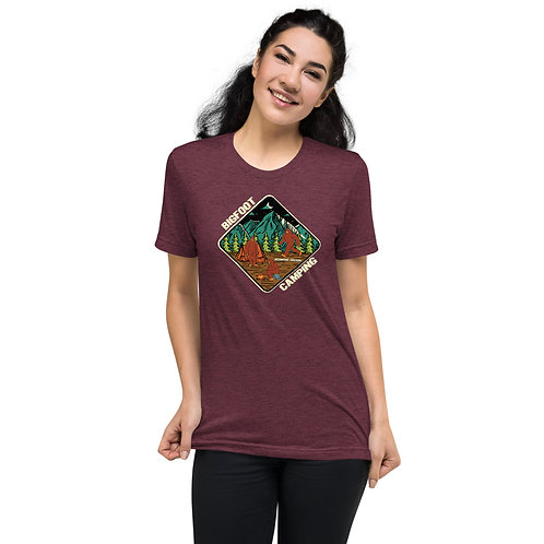Bigfoot Camping in Redmond Oregon - Short sleeve t-shirt