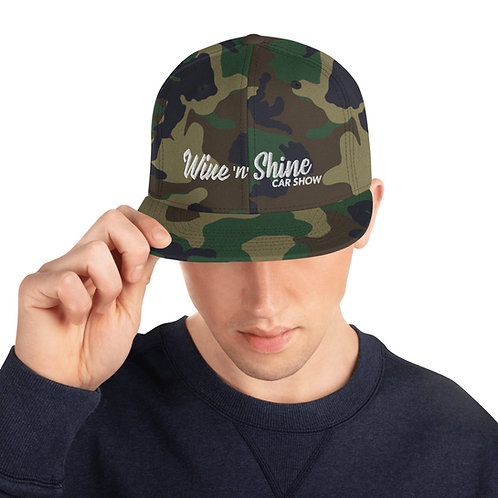 Wine 'n' Shine Car Show - Snapback Hat