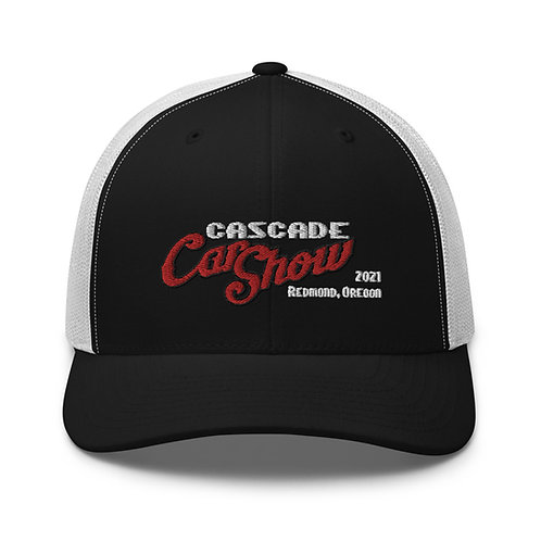 Cascade Car Show - Redmond Oregon - 2021 - Trucker Cap