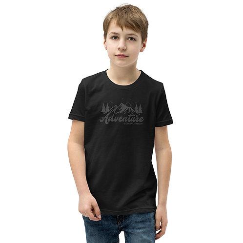 Redmond, Oregon Nature Scene RDM ORE - Youth Short Sleeve T-Shirt