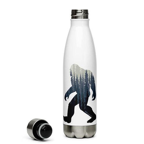 Sasquatch in Redmond, Oregon - Stainless Steel Water Bottle