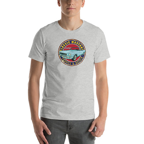 Classic Ford Mustang - Car - Short-Sleeve Unisex T-Shirt