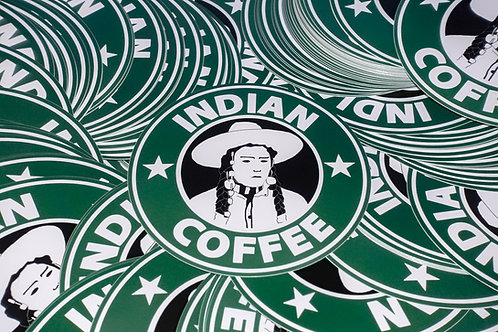 Sticker - Indian Coffee