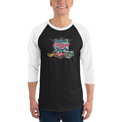 Cascade Car Show August 21, 2021 - 3/4 sleeve raglan shirt