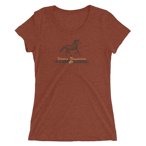 Steens Mountain Guest Ranch Kiger Mustang - Ladies' short sleeve t-shirt