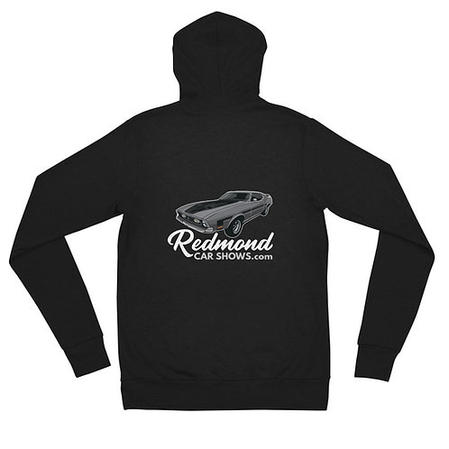 Redmond Car Show Mach 1 - Unisex zip hoodie