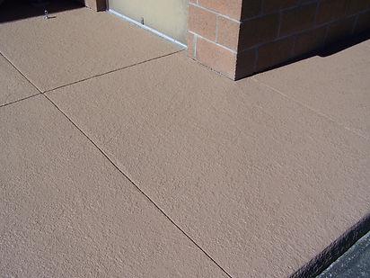 after crack repair concrete
