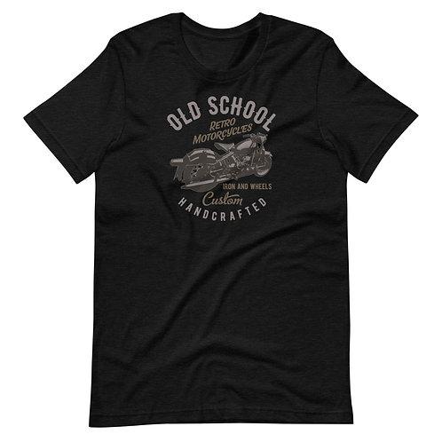 Old School Retro Motorcycles Short-Sleeve Unisex T-Shirt